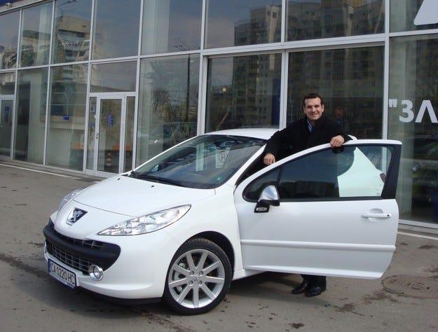 Крум Дончев Peugeot 207 RC