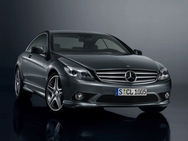 Mercedes CL 500 100 years of the trademark
