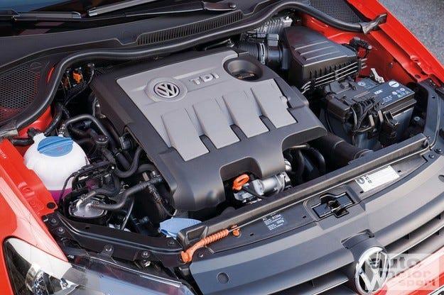 VW Polo и Golf двигатели