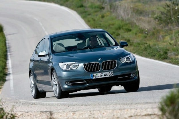 BMW 5 серия GT