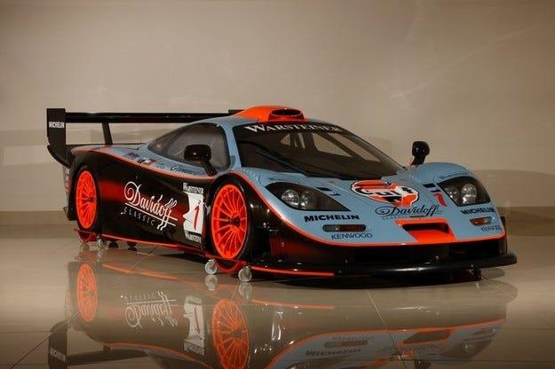 McLaren F1 GTR Gulf Team Davidoff