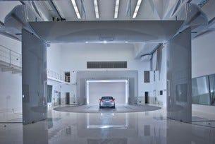 BMW аеродинамичен център