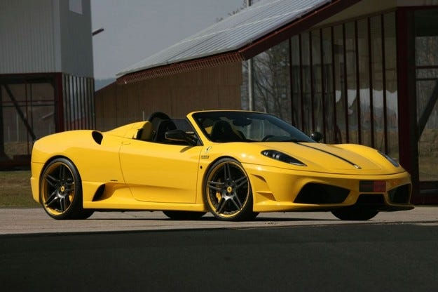 Ferrari Scuderia Spider 16M Novitec Rosso