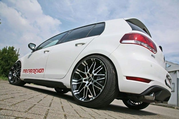 MR Car Design Golf GTI