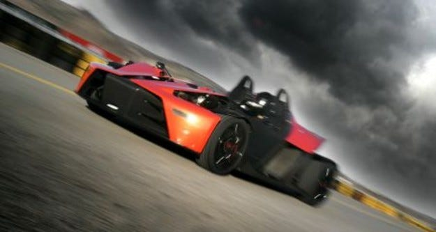KTM X-Bow: официални снимки