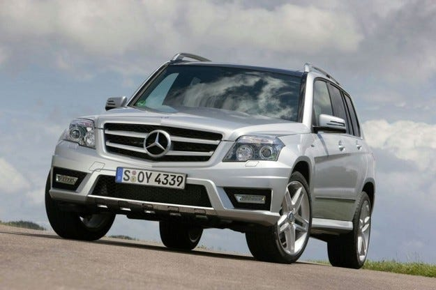 Mercedes GLK-класа BlueEFFICIENCY