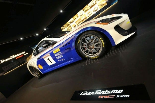 Maserati GranTurismo MC Trofeo Race Car