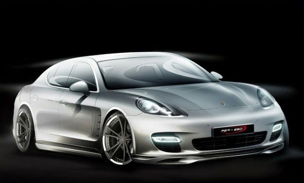 SpeedART Porsche Panamera Turbo