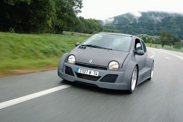 Renault Twingo Trophy V8