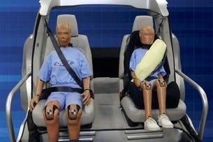 Ford надуваеми колани