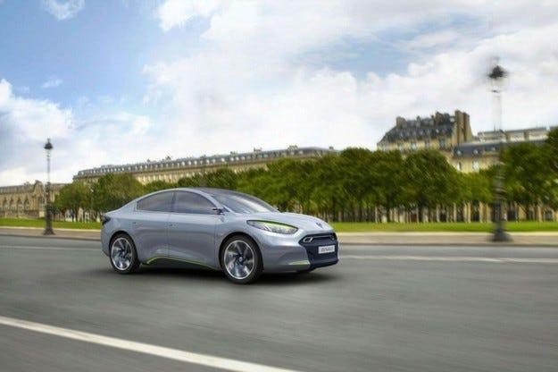 Renault Fluence E.V.