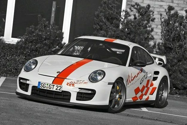 Wimmer RS Porsche 911 GT2 Speed