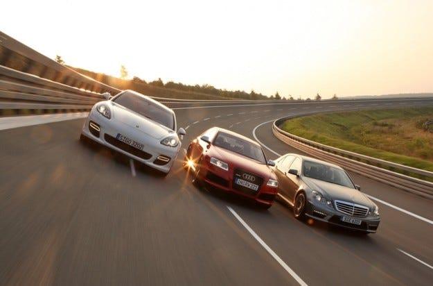 Audi RS 6, Mercedes E 63 AMG, Porsche Panamera Turbo