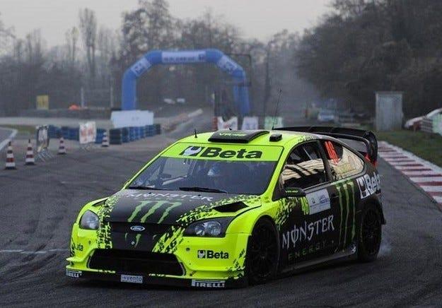 Rossi Rally de Monza 2009