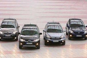 Mitsubishi Outlander vs. Honda CR-V vs. Toyota RAV4 vs. Opel Antara