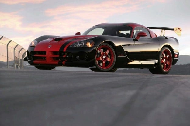 Dodge Viper SRT10 ACR 1:33 Edition