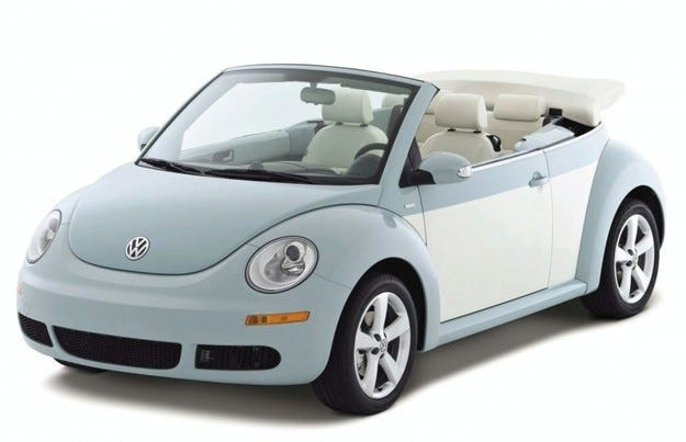 VW New Beetle Final Editions