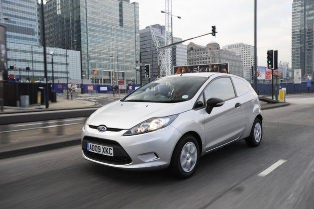 Ford Fiesta Van ECOnetic