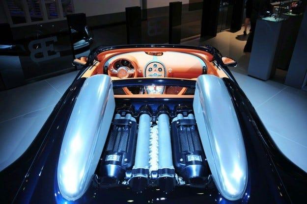 Bugatti Дубай