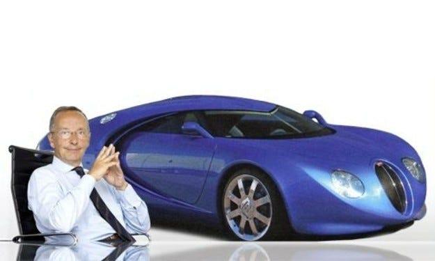 Валтер да Силва Bugatti