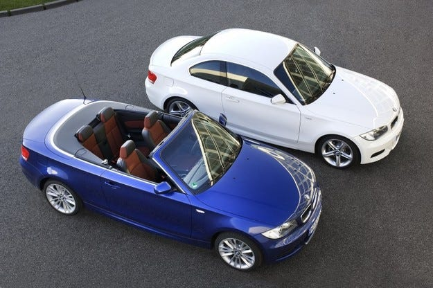 BMW 135i Coupe и Convertible