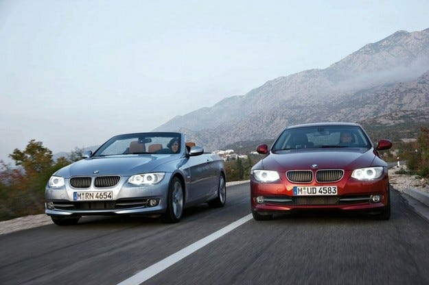 BMW 3 Coupe и Convertible