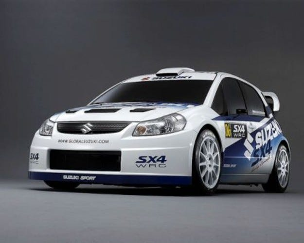 Дебют SX4 WRC