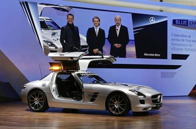 Mercedes SLS AMG F1
