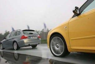 BMW 335i Touring vs. Audi S4 Avant