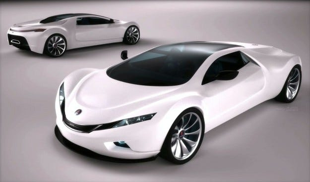 Saab Spyker 9+ Tribute Concept