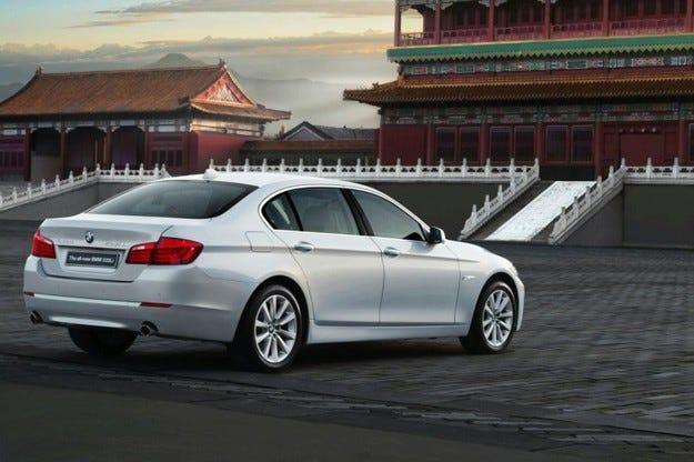 Long-Wheelbase BMW 5