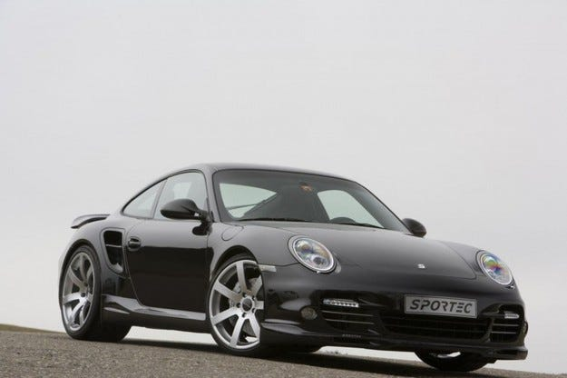 Sportec 997 Turbo SP580