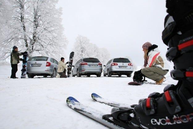 Skoda Superb Combi, Ford Mondeo Turnier, VW Passat Variant