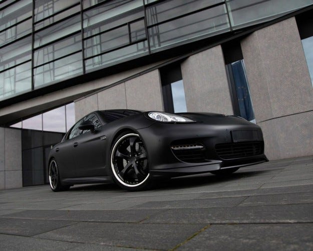TechArt Panamera Black Edition