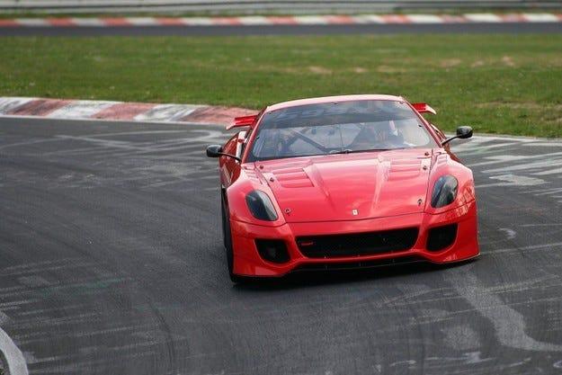 Ferrari 599XX Нордшлайфе