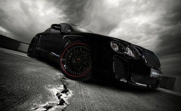 Bentley Continental Ultrasports 702
