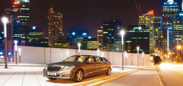 Mercedes E-класа by Binz