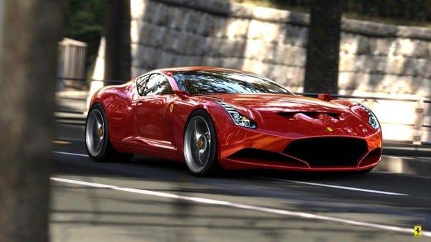 Проектът Ferrari 612 GTO