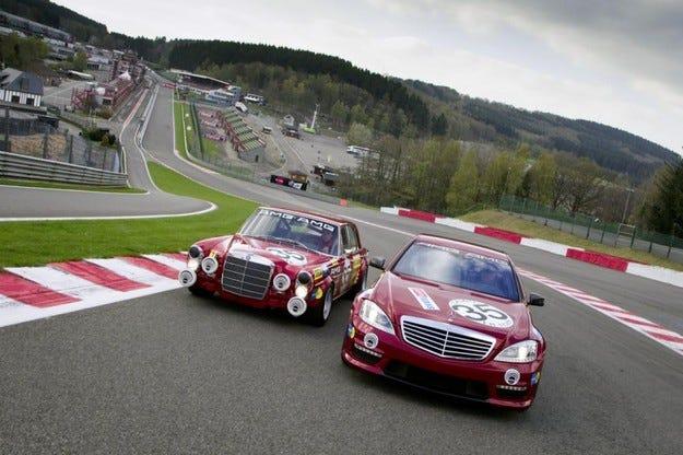 Mercedes 300 SEL 6.8 AMG и S 63 AMG