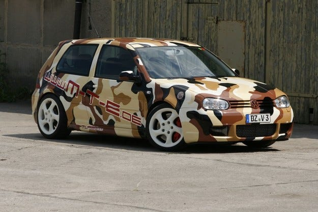 MTE VW Golf R32