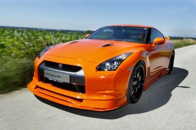 Konigseder Nissan GT-R