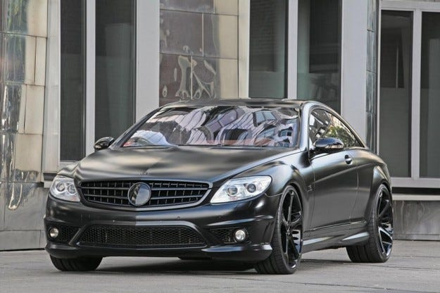 ANDERSON Mercedes CL 65 AMG Black Edition