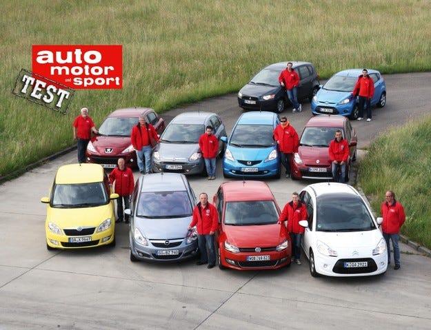 Мастертест: Десет малки автомобила