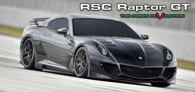 Rotary Super Cars Raptor GT