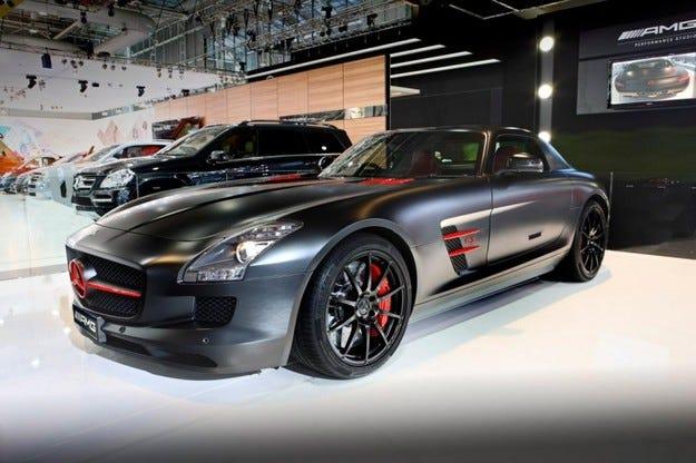 Mercedes SLS и Concept 358