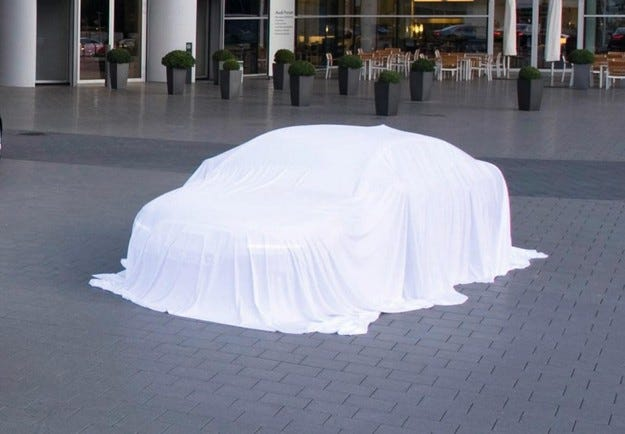Audi A6 тийзъри