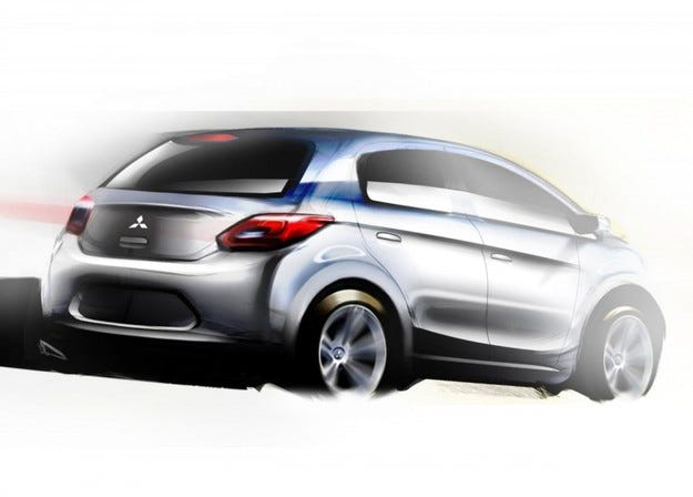Mitsubishi компактен модел