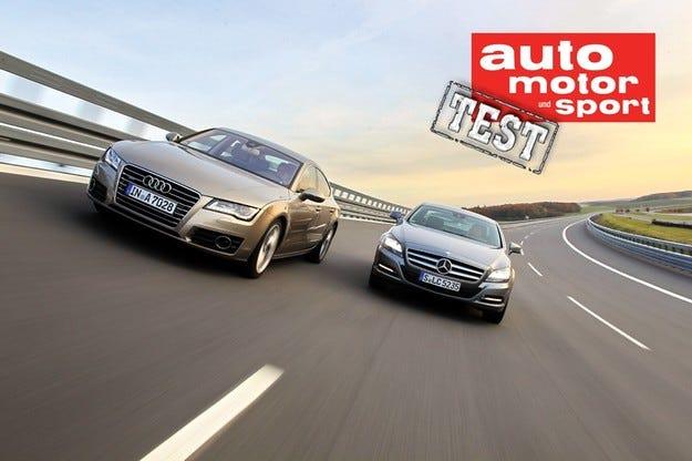 Audi A7 Sportback срещу Mercedes CLS