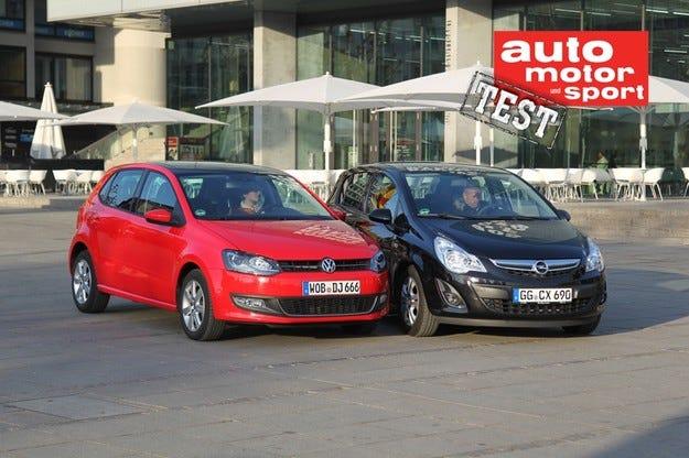 Opel Corsa срещу VW Polo