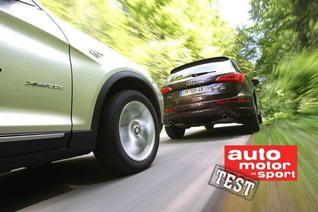 Audi Q5 3.0 TDI quattro срещу BMW X3 xDrive30d